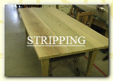 furniture stripping, hand stripping, paint stripping, finish removal